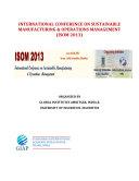 ISOM 2013 Proceedings (GIAP Journals, India)