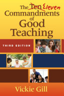 Pdf The Eleven Commandments of Good Teaching Telecharger