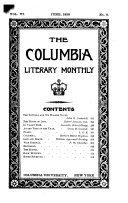 The Columbia Literary Monthly