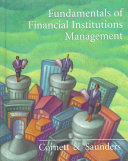 Cover of Fundamentals of Financial Institutions Management