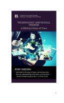 TECHNOLOGY AND SOCIAL TRENDS