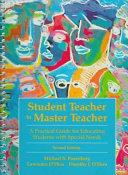 Cover of Student Teacher to Master Teacher