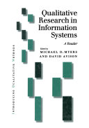Pdf Qualitative Research in Information Systems Telecharger