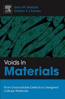 Voids in Materials