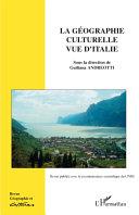 Pdf Géographie culturelle vue d'Italie Telecharger