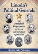 Lincoln      s Political Generals
