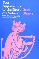 Four Approaches to the Book of Psalms Pdf/ePub eBook