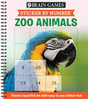 Sticker by Number Zoo Animals