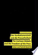 Cartoon debate and the freedom of the press,  by Bernhard Debatin PDF
