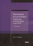 Introduction to Law Practice