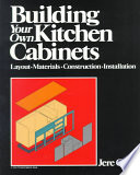 Building Your Own Kitchen Cabinets