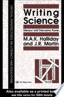 Writing Science Book PDF