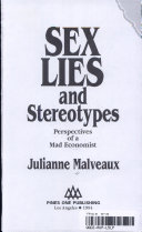 Sex  Lies and Stereotypes Book PDF