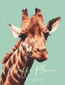 2020 2029 10 Ten Year Planner Monthly Calendar Giraffe Goals Agenda Schedule Organizer