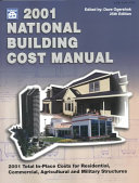2001 National Building Cost Manual