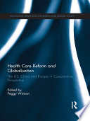 Health Care Reform And Globalisation Book