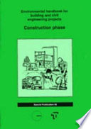 Environmental Handbook for Building and Civil Engineering Projects: Construction phase