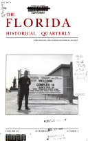 The Florida Historical Quarterly Book PDF