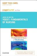 Fundamentals of Nursing Pageburst on KNO Retail Access Code