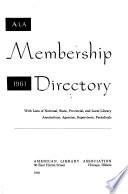 A.L.A. Membership Directory