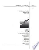 1997 Economic Census: Product summary