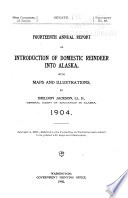 Annual Report on Introduction of Domestic Reindeer Into Alaska ...