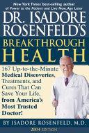 Dr  Isadore Rosenfeld s Breakthrough Health 2004 Book