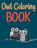 Owl Coloring Book Book