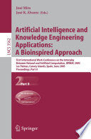 Artificial Intelligence and Knowledge Engineering Applications  A Bioinspired Approach