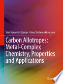 Carbon Allotropes: Metal-Complex Chemistry, Properties and Applications