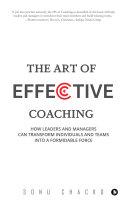 The Art Of Effective Coaching