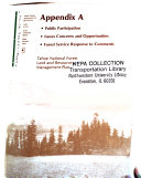 Tahoe National Forest (N.F.), Land and Resource(s) ...