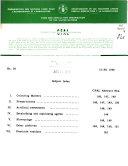 Current Food Additives Legislation