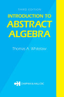 Introduction to Abstract Algebra, Third Edition [Pdf/ePub] eBook