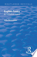 Revival: English Poetry: An unfinished history (1938)