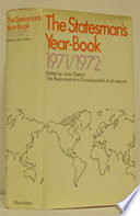 The Statesman S Year Book 1971 72