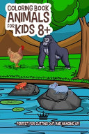 Coloring Book Animal For Kids 8+