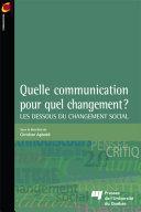 Pdf Quelle communication pour quel changement? Telecharger