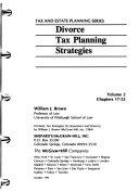 Divorce Tax Planning Strategies