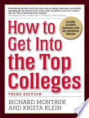 How to Get Into the Top Colleges  3rd ed Book