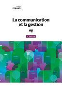 La communication et la gestion, 3e édition