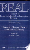Literature  Literary History  and Cultural Memory Book
