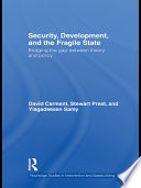 Security Development And The Fragile State
