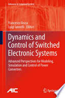 Dynamics and Control of Switched Electronic Systems Book