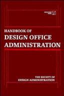 Handbook of Design Office Administration