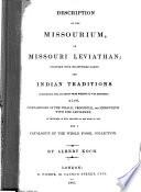 Description of the Missourium, Or Missouri Leviathan