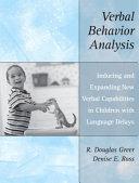 Verbal Behavior Analysis
