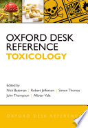 Oxford Desk Reference Toxicology Book PDF
