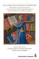 Pdf Les Livres des maîtres de Sorbonne Telecharger