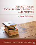 Perspectives in Social Research Methods and Analysis